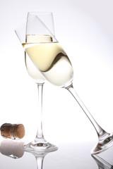 champagner anstossen