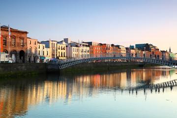 pedestrian bridge in Dublin