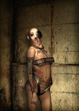 horror woman freak fantasy