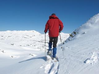 Schneeschuhwandern am Ifen