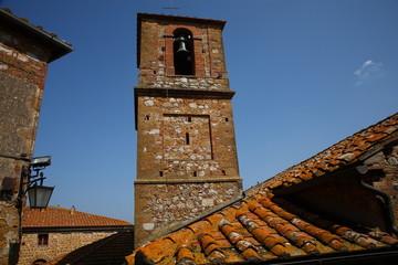 Montisi,campanile