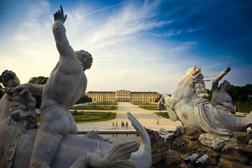 Foto op Plexiglas Wenen schloss schoenbrunn, wien