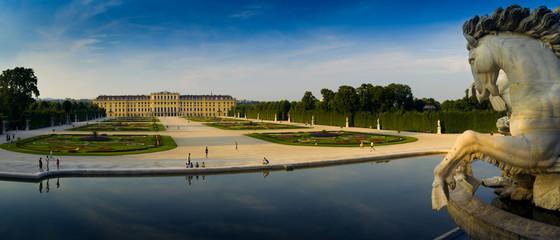Fond de hotte en verre imprimé Vienne schloss schoenbrunn, wien