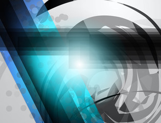 Business Corporate Background with Abstract Shapes