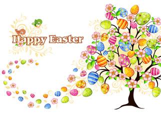 Albero di Pasqua Happy Easter