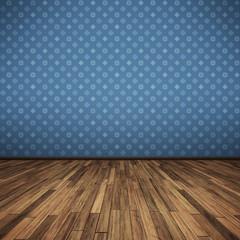floor blue