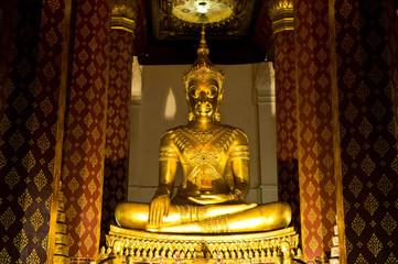 Golden Buddha in ayutthaya