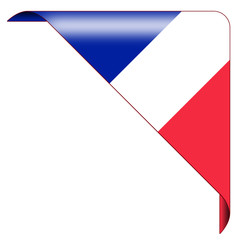 button france flag