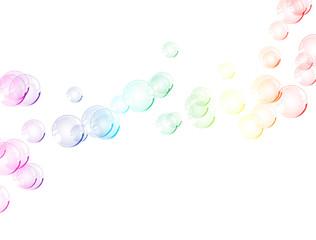 bulles rainbow
