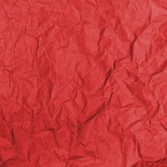 Kraft froissé (rouge)
