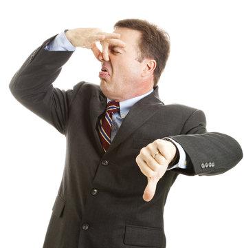 Businessman - It Stinks