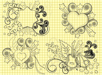 doodle,visit my gallery to see more cool illustration