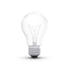 High-quality lightbulb with shadow