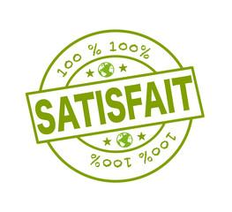 "Tampon ""100 % satisfait"""
