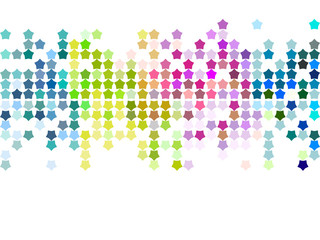 Vector colourful mosaic pattern