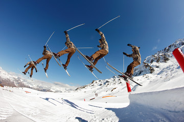 freestyle, ski acrobatique