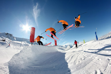 ski freestyle 360°