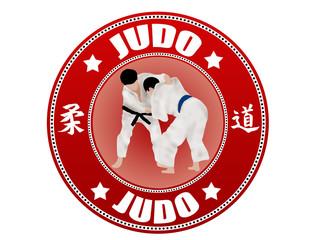 Judo  label