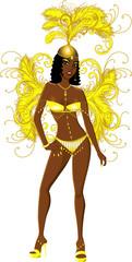 Carnival Yellow Girl