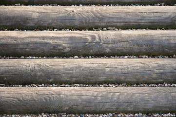 Fototapeta Drewniane belki obraz