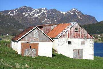 Lofoten barn and hayloft
