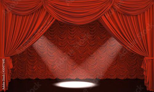curtain theater essays