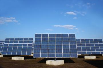 erneuerbare Energie Solarpark photovoltaik