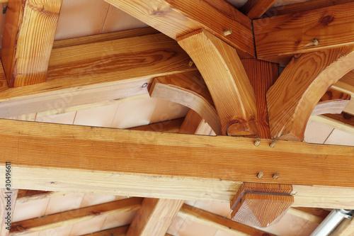 """""""charpente bois"""" photo libre de droits sur la banque d'images Fotolia com Image 30496611 # Bois De Charpente En Ligne"""