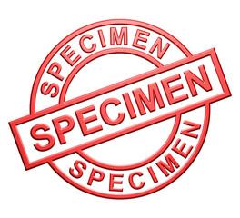 """Specimen"" Cachet"