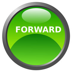Forward button glossy icon
