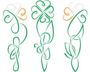 Shamrock Celtic Ireland lnot