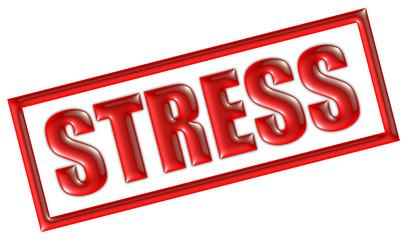 STempel rot STRESS
