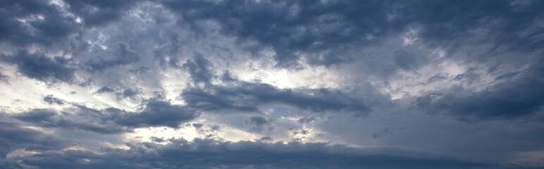 cloudy storm sky