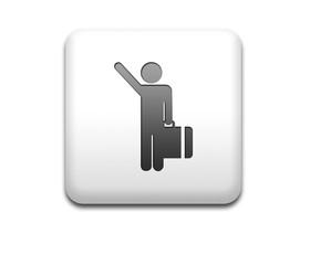 Boton cuadrado blanco llegada vuelos