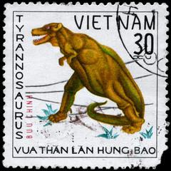 VIETNAM - CIRCA 1978 Tyrannosaurus