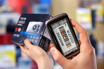 barcode scanner on the smartphone 02
