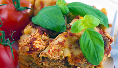 Lasagna pasta al pomodoro
