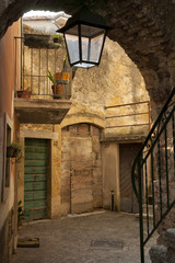 Torri del Benaco, old street