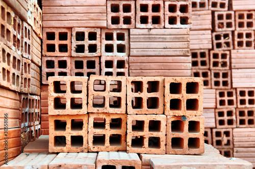 briques creuses photo libre de droits sur la banque d. Black Bedroom Furniture Sets. Home Design Ideas