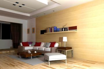 rendering living-room