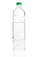 Water bottle against white background