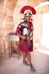 Spoed Foto op Canvas Ridders Portrait of a legionary soldier