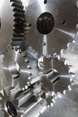 machine-parts of titanium
