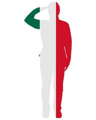 Mexikanischer Salut