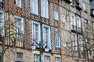 Les maisons de Rennes