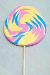 Pastel Rainbow Lollipop