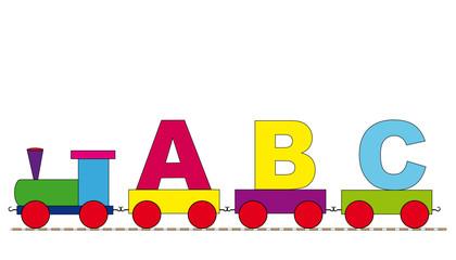ABC Schulanfang Eisenbahn