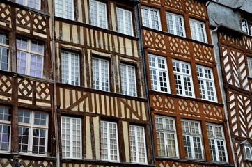 Les colombages de Rennes