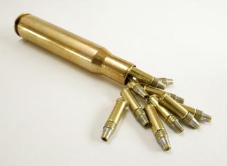 Super sized ammunition