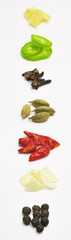 Cool Arrangement of Hot Indian Spices